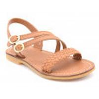 Chaussures Fille Sandales et Nu-pieds Shoo Pom lazar megh Marron