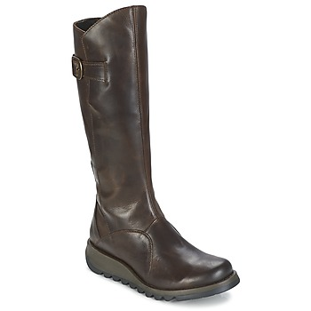 Chaussures Femme Bottes ville Fly London MOL 2 BROWN
