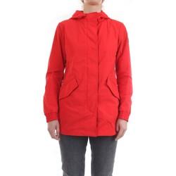 Vêtements Femme Parkas Woolrich CFWWOU0216FRUT0573 Veste femme Rouge Rouge
