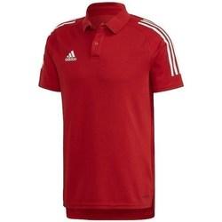 Vêtements Homme Polos manches courtes adidas Originals Condivo 20 Rouge