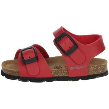 Chaussures Garçon Sandales et Nu-pieds Grunland SB0027-40 Rouge