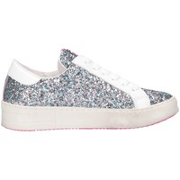 Chaussures Fille Baskets basses Meline C-STRA-01344 Multic.azzurro