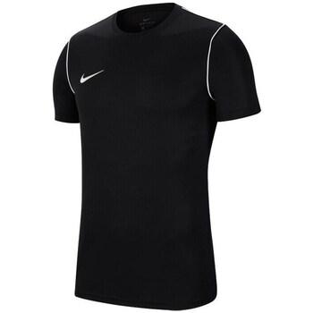 Vêtements Garçon T-shirts manches courtes Nike JR Park 20 Noir