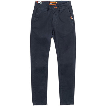 Vêtements Homme Chinos / Carrots Superdry Pantalon Bleu