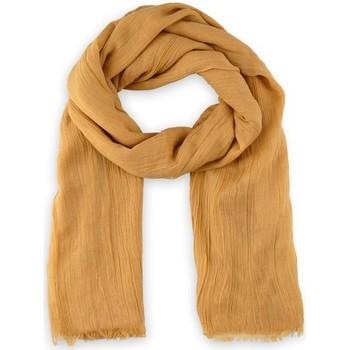 Accessoires textile Echarpes / Etoles / Foulards Allée Du Foulard Chèche Touch - Couleur - Ambre Ambre