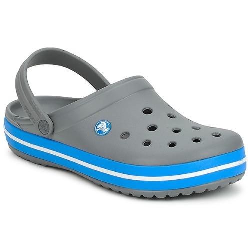 Crocs CROCBAND Gris - Livraison Gratuite avec  - Chaussures Sabots