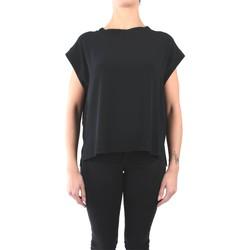 Vêtements Femme Tops / Blouses Momoni Momonì MOBL004 04MO Chemisiers Femme Noir Noir