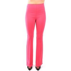 Vêtements Femme Pantalons fluides / Sarouels Hanita H.P911.2665 Pamplemousse / Rose