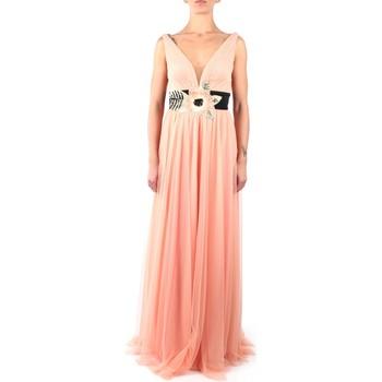 Vêtements Femme Robes longues Soani 502020 Dress Femme pêche pêche