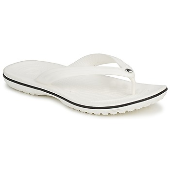 Chaussures Tongs Crocs CROCBAND FLIP Blanc