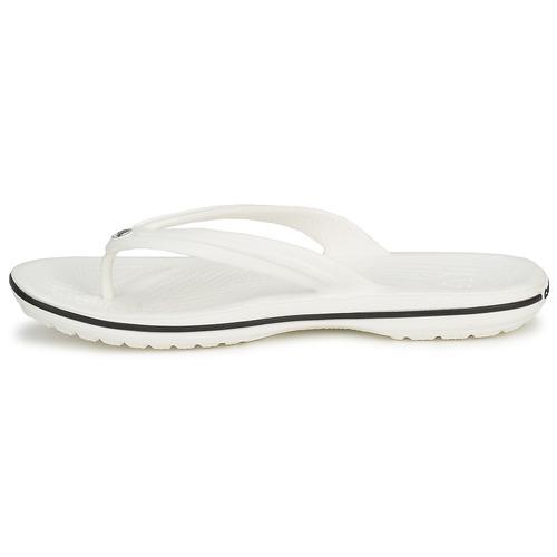 Flip Blanc Chaussures Crocs Crocband Tongs LUzMpGjqSV
