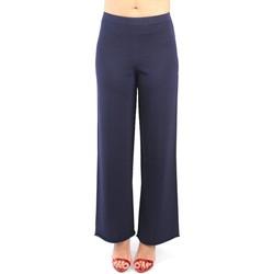 Vêtements Femme Pantalons de costume Liviana Conti F20/F0SA33 bleu