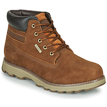 Chaussures Homme Boots Caterpillar FOUNDER WP TX Marron
