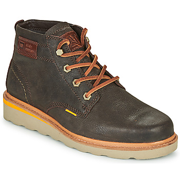 Chaussures Homme Boots Caterpillar JACKSON MID Marron