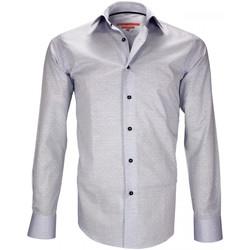 Vêtements Homme Chemises manches longues Andrew Mc Allister chemise mode croxley bleu Bleu