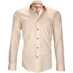 Vêtements Homme Chemises manches longues Andrew Mc Allister chemise mode croxley orange Orange