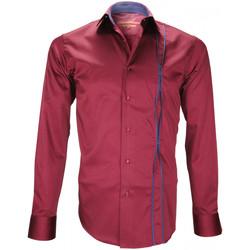 Vêtements Homme Chemises manches longues Andrew Mc Allister chemise mode ickenham bordeaux Bordeaux