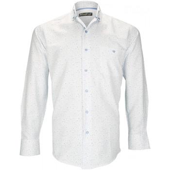 Vêtements Homme Chemises manches longues Emporio Balzani chemise mode bolzano blanc Blanc
