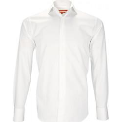 Vêtements Homme Chemises manches longues Andrew Mc Allister chemise mousquetaire queensbury blanc Blanc