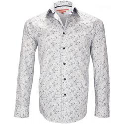 Vêtements Homme Chemises manches longues Andrew Mc Allister chemise fantaisie tottenham beige Beige