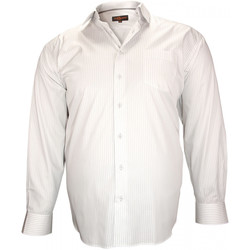 Vêtements Homme Chemises manches longues Doublissimo chemises double fil 120/2 bristol gris Gris