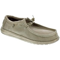 Chaussures Homme Mocassins Dude Wally Classic Beige