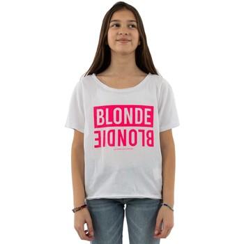 Sweat-shirt enfant Le Temps des Cerises blunegi 1001 white