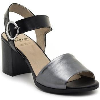 Chaussures Femme Sandales et Nu-pieds Dorking D8174-LATQ Noir
