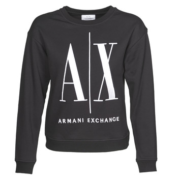 Vêtements Femme Sweats Armani Exchange 8NYM02 Noir