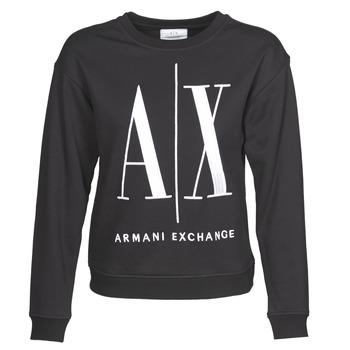 Vêtements Femme Sweats Armani Exchange 8NYM02 Noir