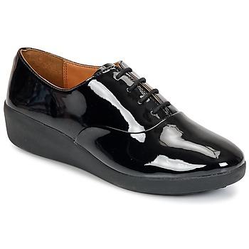 Chaussures Femme Derbies FitFlop F-POP OXFORD Noir