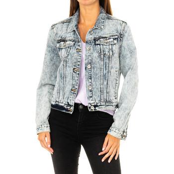 Vêtements Femme Vestes en jean Superdry Veste en jean Bleu