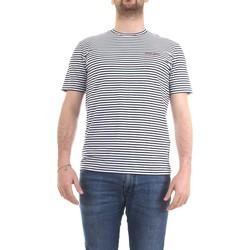 Vêtements Homme T-shirts manches courtes Woolrich CFWOTE0032MRUT2139 bleu