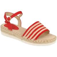 Chaussures Femme Sandales et Nu-pieds Suncolor 9085 Rojo
