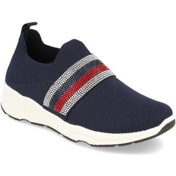 Chaussures Femme Slip ons Buonarotti 1QQ-0293 Azul