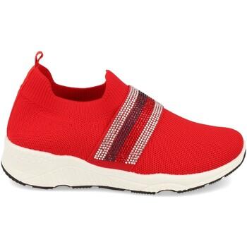 Chaussures Femme Slip ons Buonarotti 1QQ-0293 Rojo