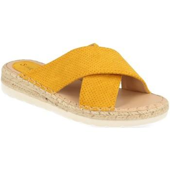 Chaussures Femme Mules Suncolor 9082 Amarillo