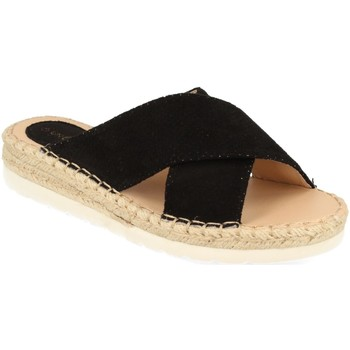 Chaussures Femme Mules Suncolor 9082 Negro