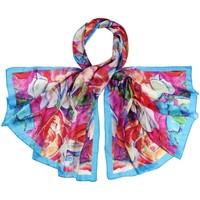 Accessoires textile Femme Echarpes / Etoles / Foulards Allée Du Foulard Etole soie ArtiFlor rose