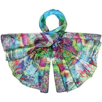 Accessoires textile Femme Echarpes / Etoles / Foulards Allée Du Foulard Etole soie Malowa multicolore