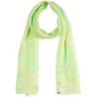Accessoires textile Femme Echarpes / Etoles / Foulards Sacaly Echarpe mousseline de soie Natura Vert