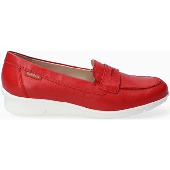 Chaussures Femme Mocassins Mephisto Mocassin cuir DIVA Rouge