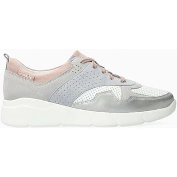 Chaussures Femme Baskets basses Mephisto Basket cuir IMANIE Gris