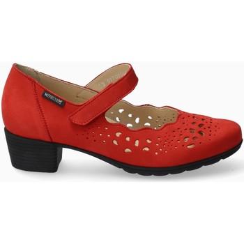 Chaussures Femme Escarpins Mephisto Trotteur cuir IVORA Rouge