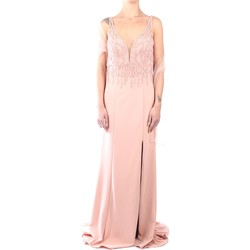 Vêtements Femme Robes longues Impero C81472 Dress Femme Rosa Rosa