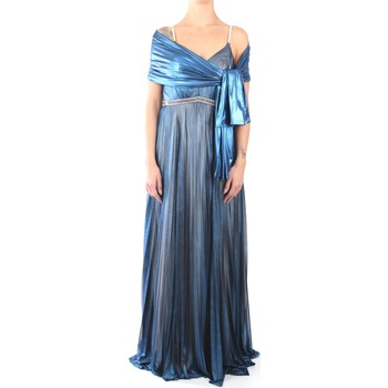 Vêtements Femme Robes longues Impero LT3422 Dress Femme bleu bleu