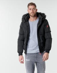 Vêtements Homme Parkas Deeluxe SHARK Noir