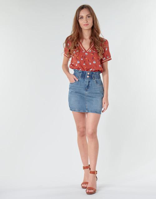 Only Onlmillie Bleu Medium - Livraison Gratuite- Vêtements Jupes Femme 2999
