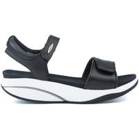 Chaussures Femme Sandales et Nu-pieds Mbt SANDALES  MALIA W BLACK NAPPA