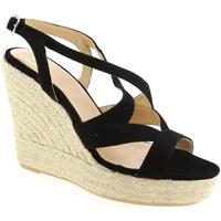 Chaussures Femme Espadrilles Maypol CAMBRI Noir